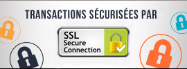 Transaction sécurisée par SSL Secure